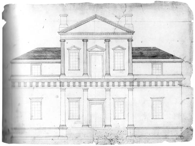 First Monticello design