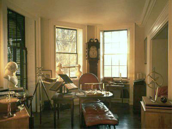 Jefferson's office, Monticello