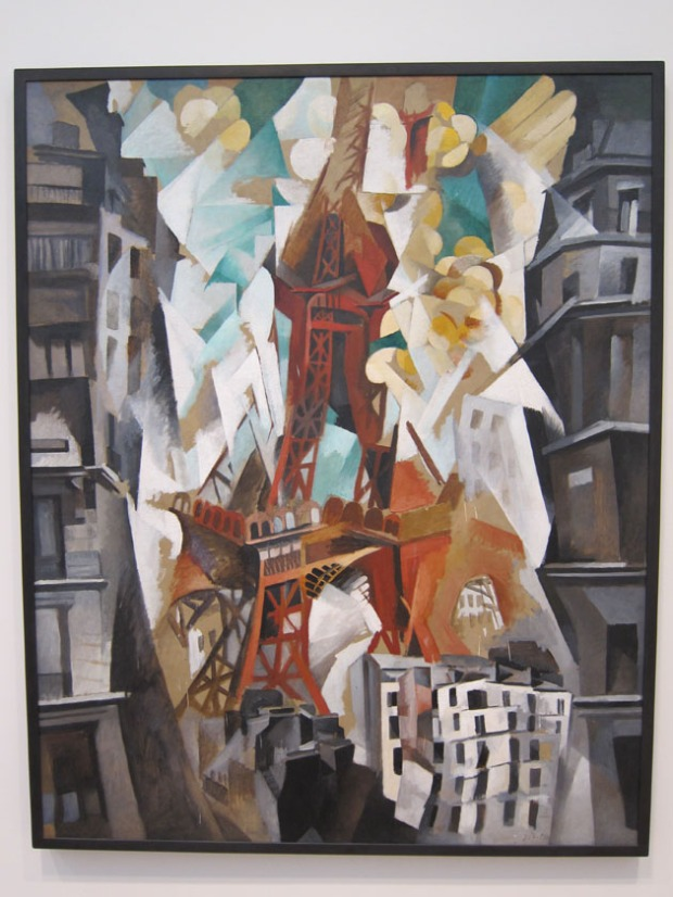 Robert Delaunay - The Red Tower
