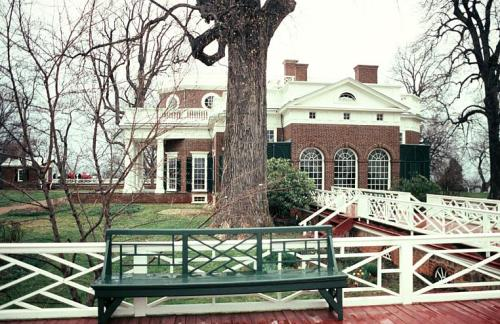 south terrace of Monticello