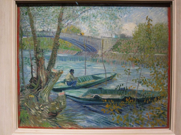 Van Gogh - Fishing in Spring