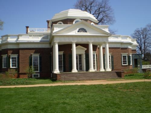 Monticello west portico