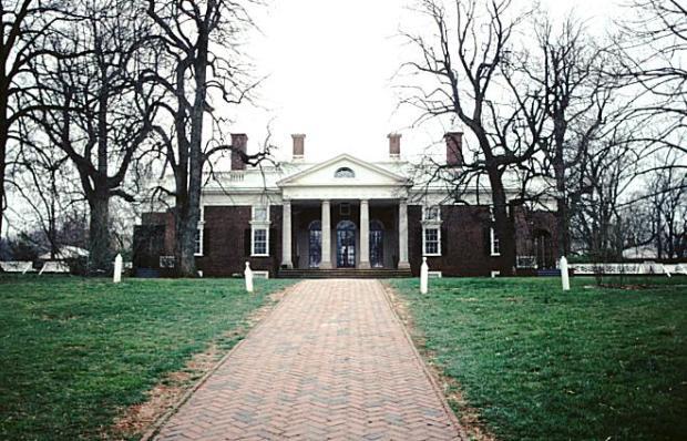Monticello East face