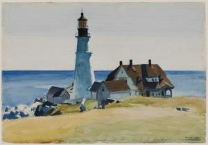 Edward Hopper Cape Elizabth MFA