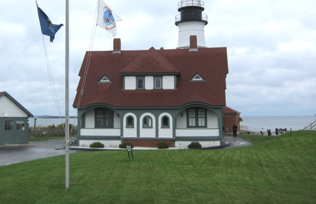 hopper Cape Elizabeth house today front
