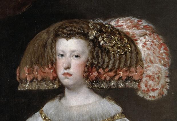 Mariana of Austria closeup - Velazquez