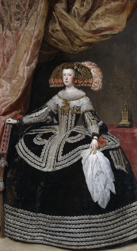 Velazquez - Mariana of Austria
