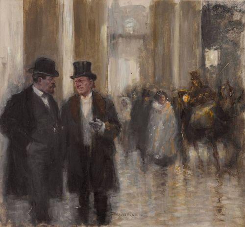 Vor der Oper - Friedrich Wahle