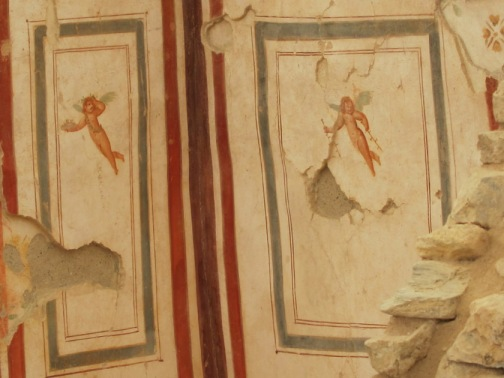 Cupid, Terrace House wall fresco, Ephesus