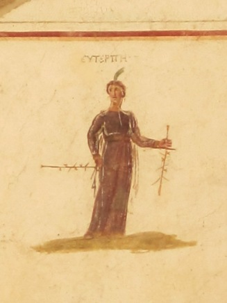Euterpe, Muse of song and poetry, Terrace Houses, Ephesus