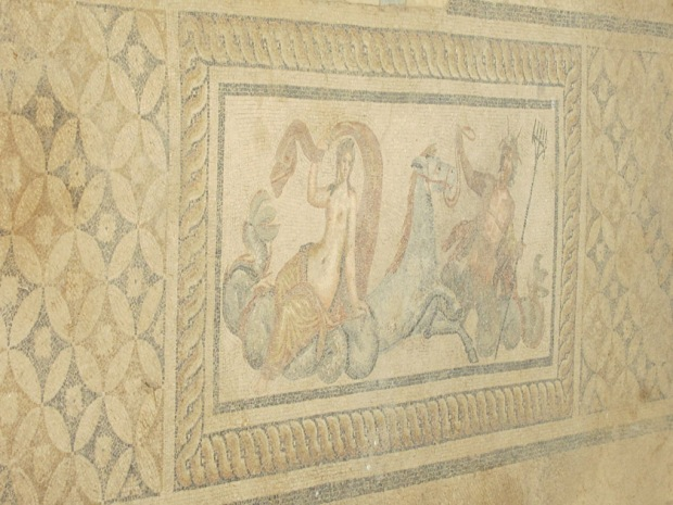 Terrace House floor mosaic, Ephesus