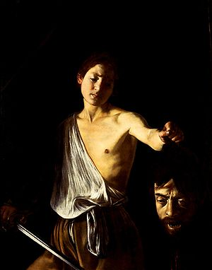 Caravaggio - David with the head of Goliath (Galleria Borghese)
