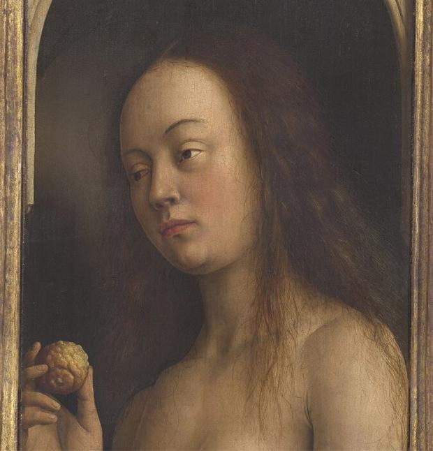 Eve - Jan Van Eyke, The Ghent Altarpiece
