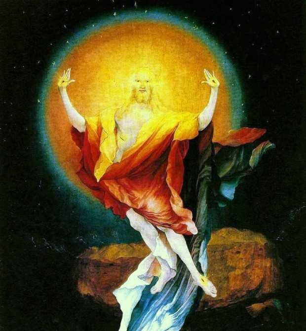 Matthias Grunewald - Resurrection, Isenheim Altarpiece