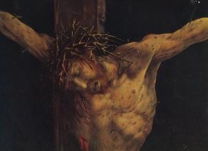 Matthias Grunewald - Christ, Isenheim altarpiece