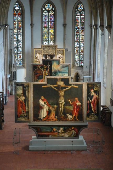 Matthias Grunewald, Isenheim altarpiece in situ, Colmar, France