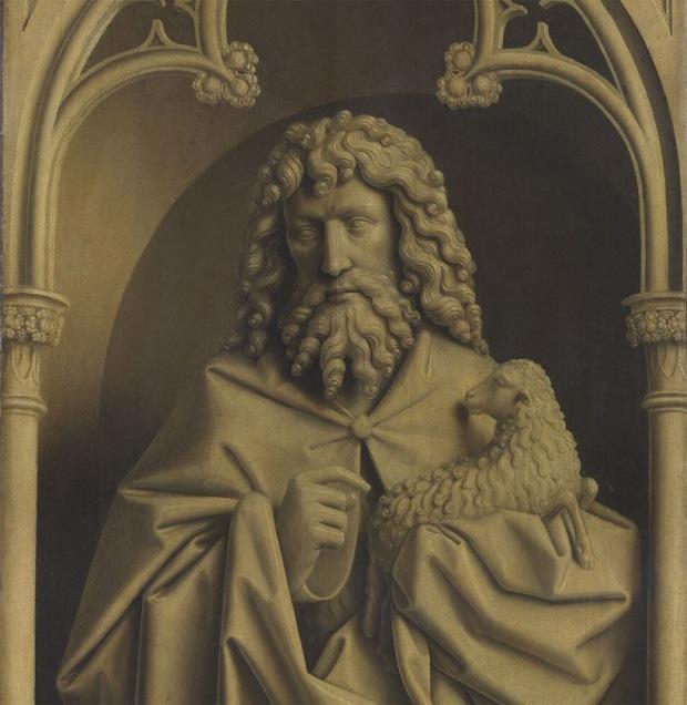 John the Baptist - van Eyke, Ghent Altarpiece