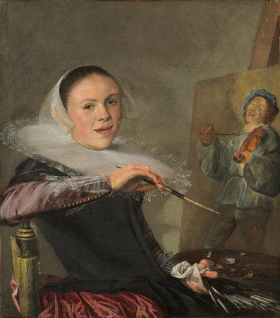 Judith Leyster, Self-Portrait, c. 1630