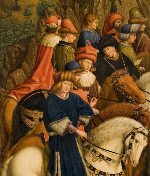 Righteous Judges panel - Ghent altarpiece