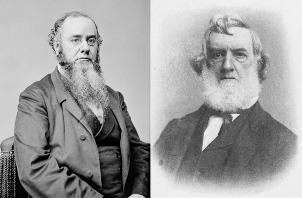 Edwin M. Stanton and Gideon Welles