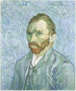 "Vincent Van Gogh, ""Self-Portrait"", 1889, (Musée d'Orsay, Paris)"