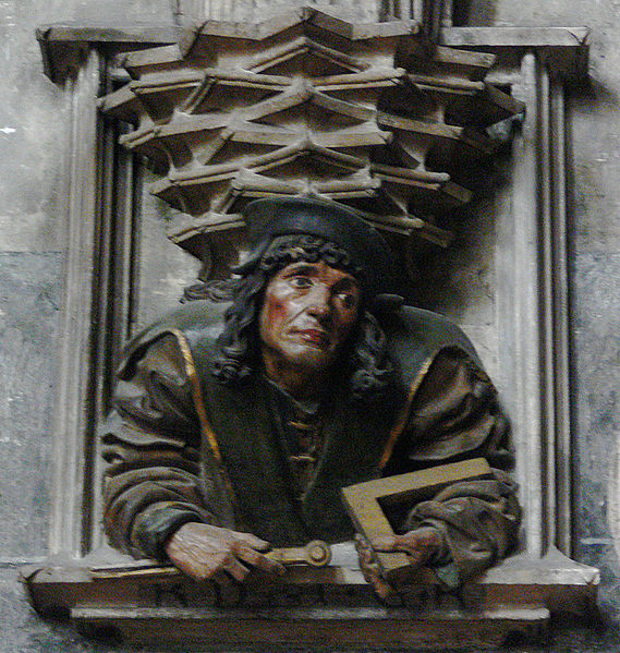 Anton Pilgram in Stephansdom Cathedral