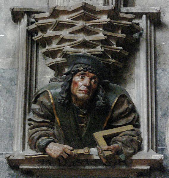Anton Pilgram in Stephansdom Cathedral