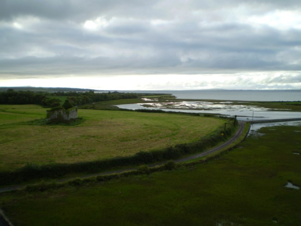 View from the top of Carrigafoyle Castle