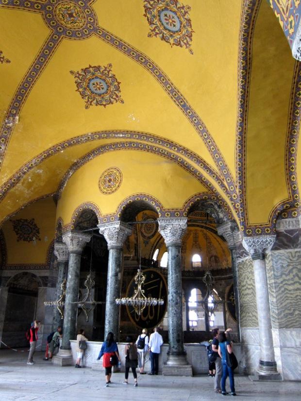 Hagia sophia upper gallery