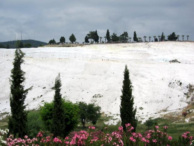 white cliffs, cotton castles of Pamukkale
