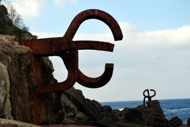 Peine del viento, Wind Combs, San Sebastian, Spain  - Eduardo Chillida