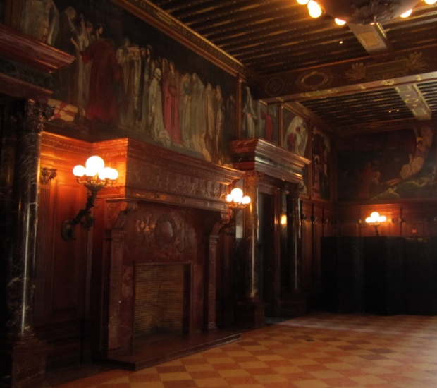 Abbey Room, Boston Public Library