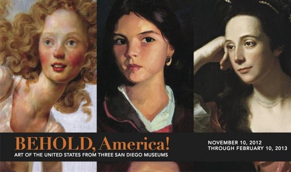 Behold, America! San Diego exhibit banner