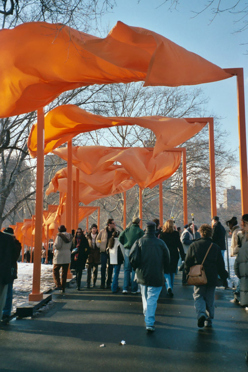 Cristo's Gates, New York City 2005, image 3