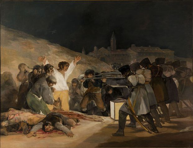Francisco Goya, Third of May 1808, Prado