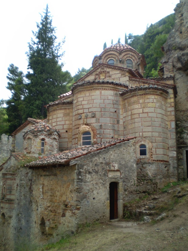 Monestary of Peribleptos, Mystras