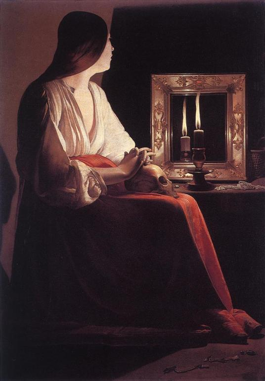 Georges de la Tour - The Penitent Magdalen