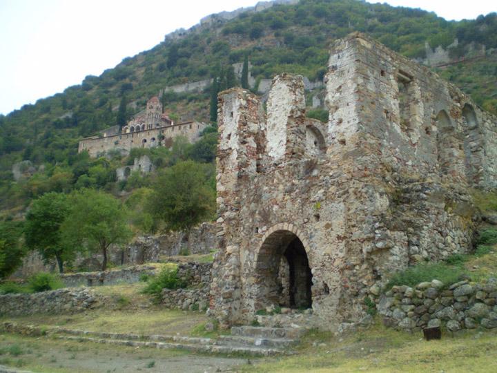 Monestary of Pantanassa, Mystras