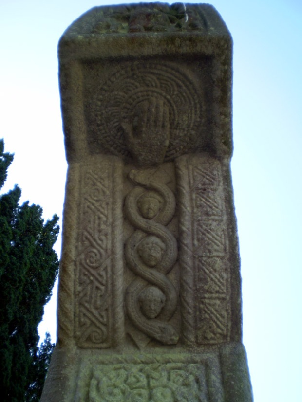 Side decoration of the Monasterboice Cross.