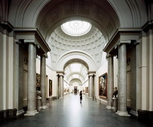 Museo Prado hall, Madrid