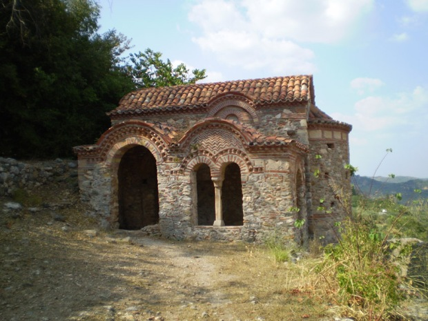 Small Chapel of St. George (Ayios Georgios), Mystras, Greece