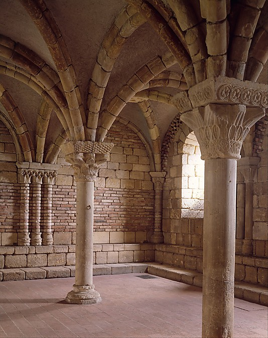 "The ""Chapter House from Notre-Dame-de-Pontaut"" from Bordeaux was constructed in the 12th century. (Photo: The Cloisters Collection)"