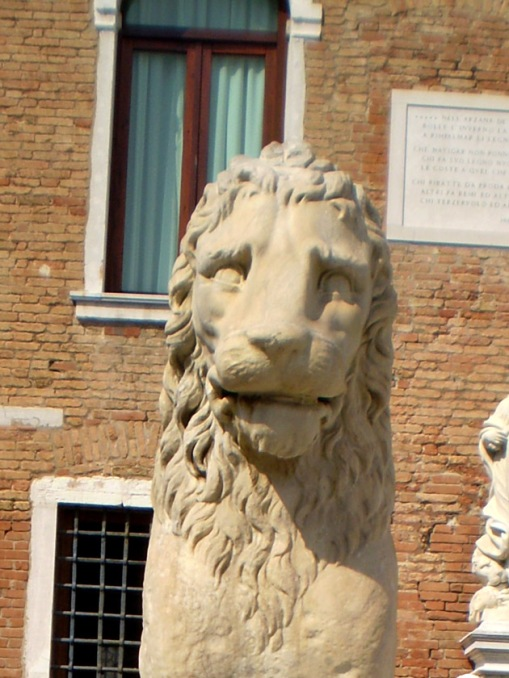 Lion from outside the Venetian Arsenal