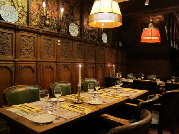 Dutch dining room interior
