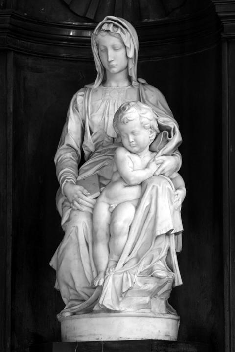 Michelangelo's Madonna of Bruges