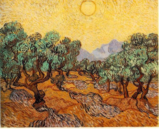 "Vincent van Gogh ""Olive Trees with Yellow Sky and Sun"", 1889, Minneapolis Institute of Arts, Minneapolis"