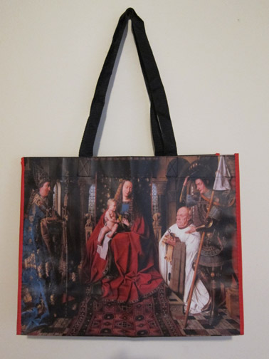 Jan van Eyck shopping bag