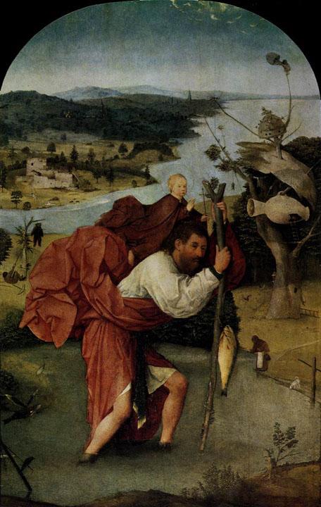 Hieronymus Bosch St Christopher