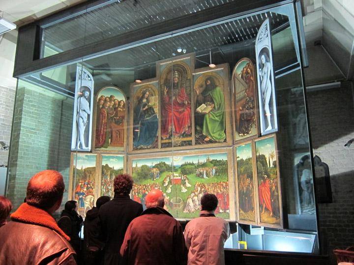 The Ghent Altarpiece in situ
