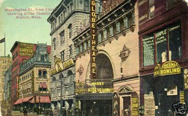 Globe Theater Boston MA